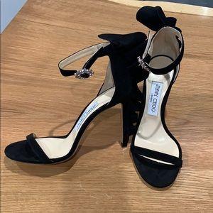 Jimmy Choo Karalie black suede sandal